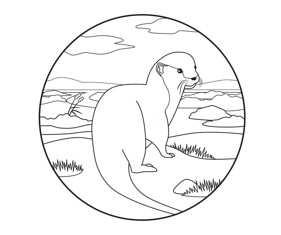 Ziemlich Malvorlagen Otter Färbung Malvorlagen Zeitgenössisch ...