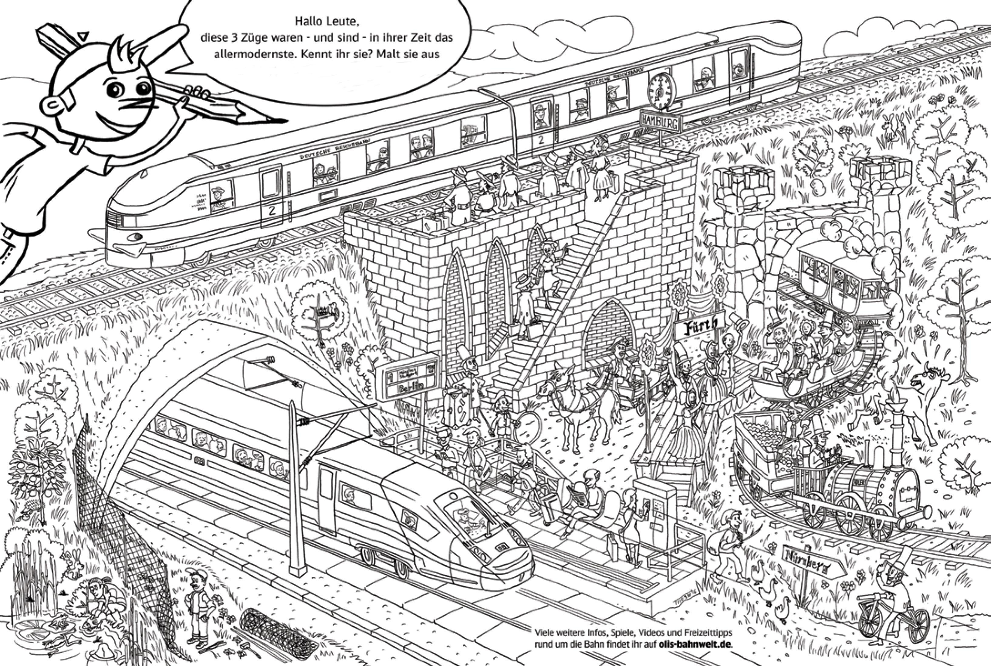 Adler Die Erste Eisenbahn In Deutschland Altes Eisen Aus