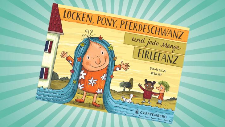 Locken, Pony, Pferdeschwanz und jede Menge Firlefanz; Cover: Gerstenberg Verlag