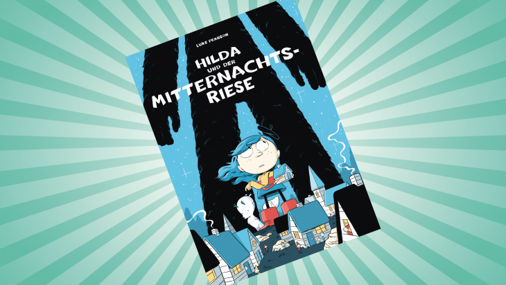 Hilda und der Mitternachtsriese; Bild: Reprodukt