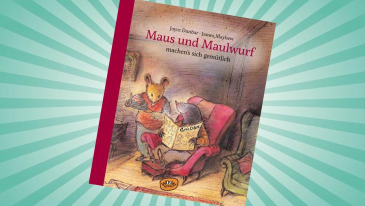 Maus und Maulwurf machen's sich gemütlich; Cover: Woow Books