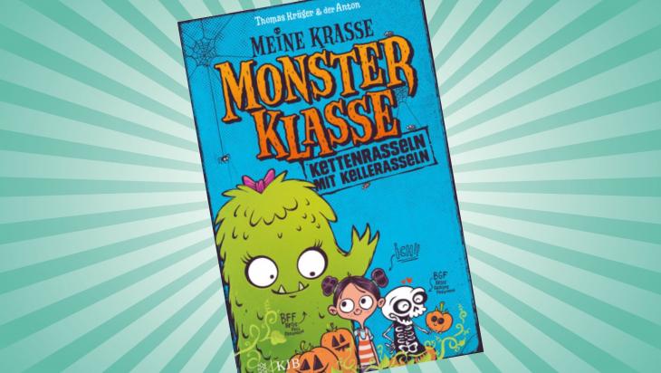 Meine krasse Monsterklasse. Kettenrasseln mit Kellerasseln; Cover: Fischer KJB Verlag