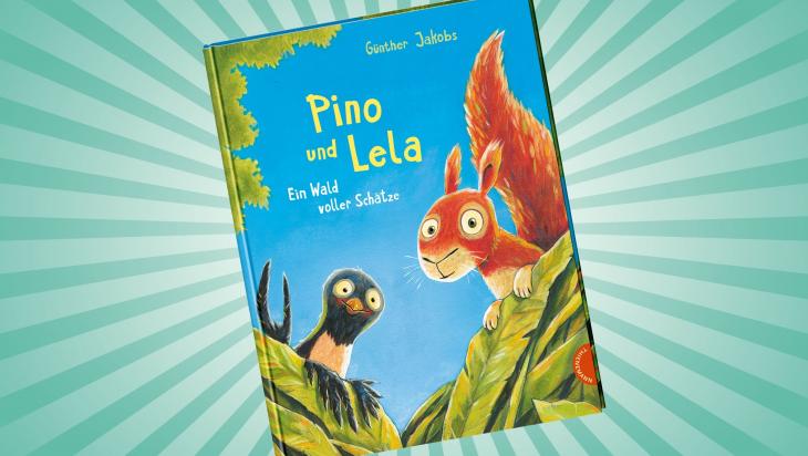 Pino und Lela. Ein Wald voller Schätze; Cover: Thienemann Verlag