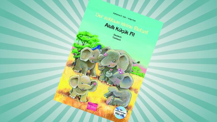Der schlaue kleine Elefant; Bild: Edition bi:libri