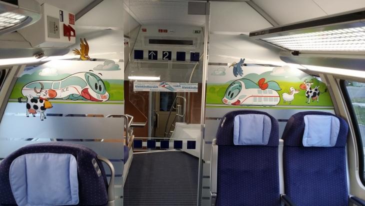 Der Kinderbereich im neuen IC2; Bild: DB/Jet-Foto
