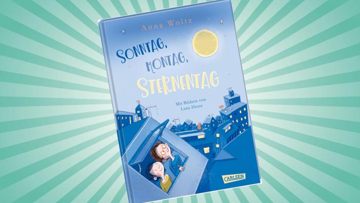 Sonntag, Montag, Sternentag; Cover: Carlsen Verlag
