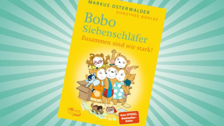 Bobo Siebenschläfer. Zusammen sind wir stark!; Cover: Rohwolt Rotfuchs Verlag