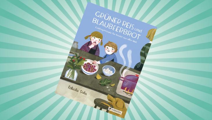 Grüner Reis und Blaubeerbrot; Bild: Pressten