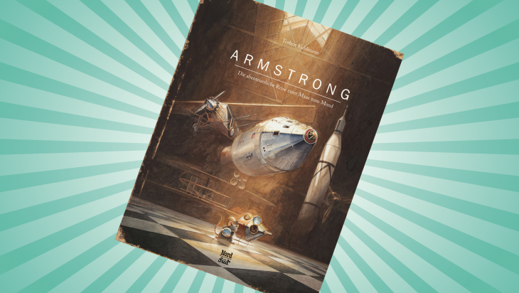 Armstrong. Die abenteuerliche Reise einer Maus zum Mond; Bild: Nord Süd