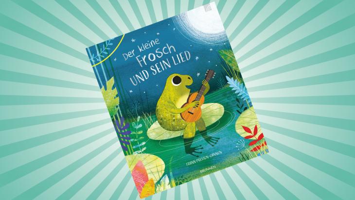 Der kleine Frosch und sein Lied; Brunnen