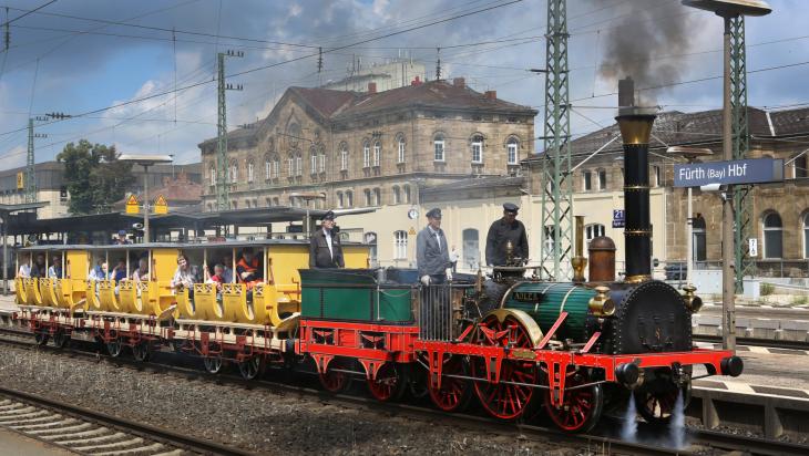 Die Lokomotive Adler Bild: DB AG / Martin Busbach