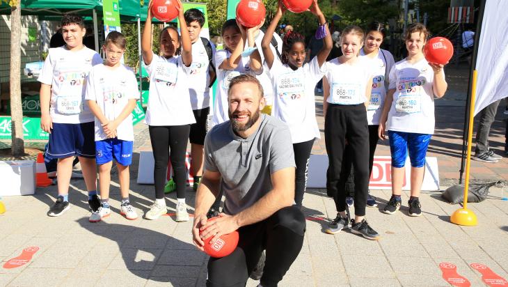 Aktionstag Jugend trainiert; Bild: DSSS / Engler