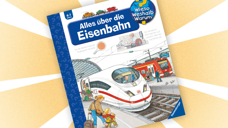 "Kinderbuch ""Alles über die Eisenbahn"" / Cover: Ravensburger Buchverlag"
