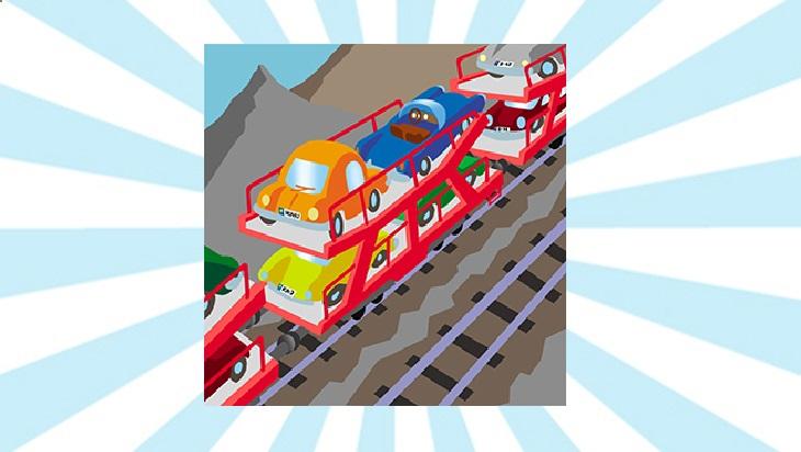Bahn-Memo-Karten Autozug; Bild: DB AG/ Titus Ackermann