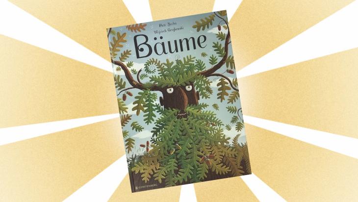 Kinderbuch: Bäume / Cover: Gerstenberg