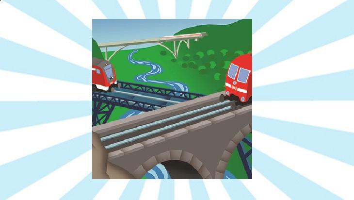 Bahn-Memo-Karte Brücken und Tunnel; Bild: DB AG/ Titus Ackermann