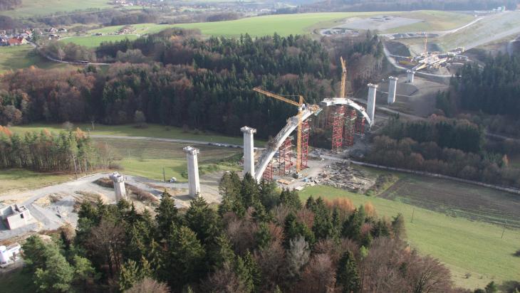 Brückenbau; Bild: DB AG