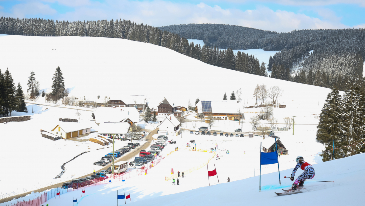 Ski-Alpin beim Winterfinale von JUGEND TRAINIERT FÜR OLYMPIA © DB AG