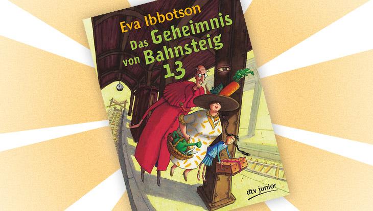 """Kinderbuch """"Das Geheimnis von Bahnsteig 13"""" / Cover: dtv junior"""
