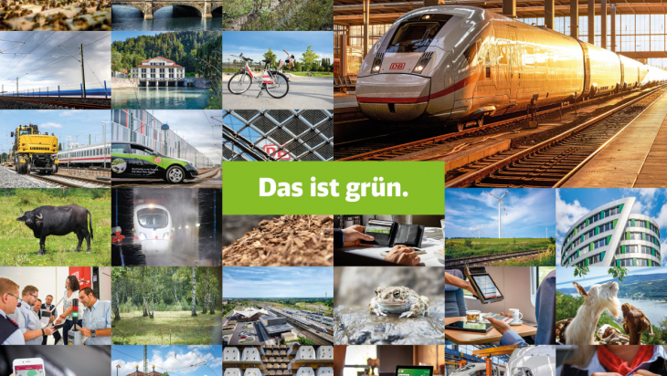 Das ist grün. / Bild: Deutsche Bahn AG / Faruk Hosseini