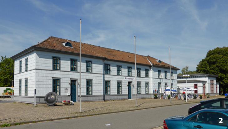 Der Vienenburger Bahnhof von vorn / Foto: Kirchenfan, Wikimedia Commons