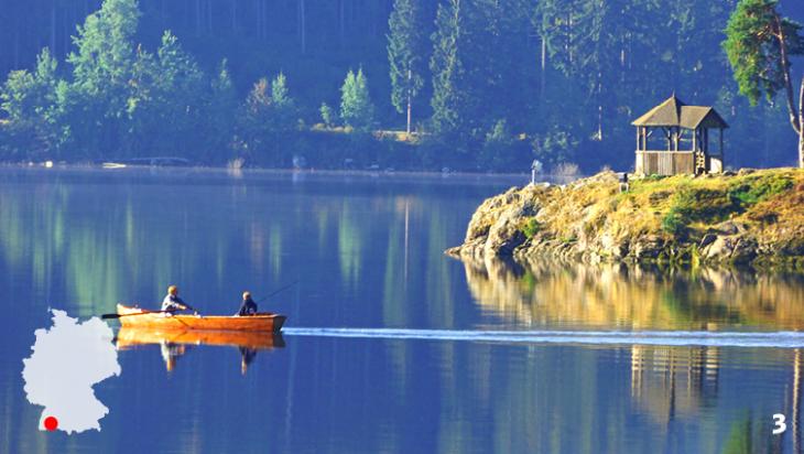Der Schluchsee - In den Tiefen des Waldes / Foto: Dg-505, Angler - panoramio