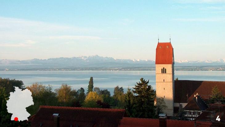 Groß, größer – Bodensee / Foto: Günter Wieschendahl, Wikimedia Commons