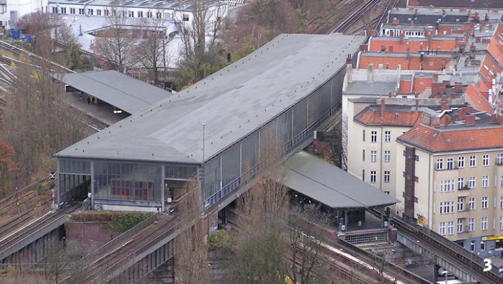 Der Durchgangsbahnhof Berlin-Schöneberg, Bild: Axel Mauruszat