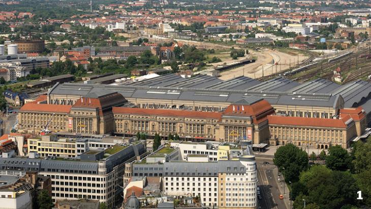 Der Leipziger Kopfhauptbahnhof, Bild: Appaloosa