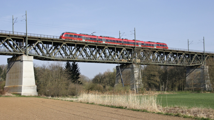 Niddabrücke: DB AG / Wolfgang Klee