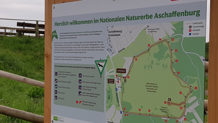 Naturschutzgebiete der Deutschen Bahn; Bild: DB AG/Stella Wamser