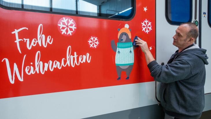 Winter-Zug / Bild: Deutsche Bahn AG / RMV / Andreas Varnhorn