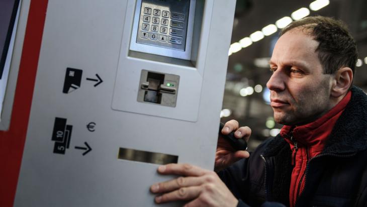 Servicetechniker; Bild: DB AG / Max Lautenschläger