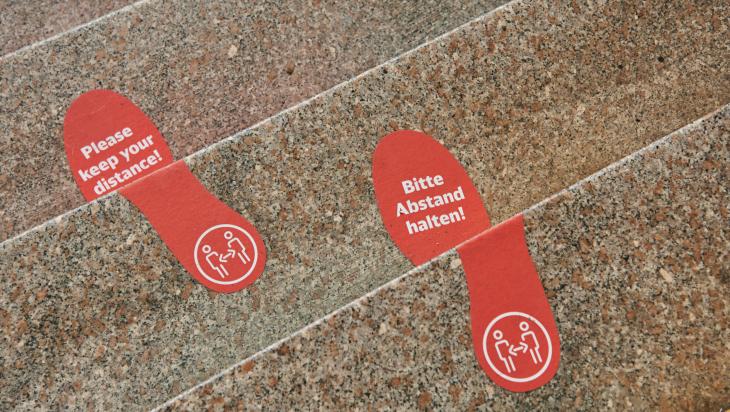 Piktogramme am Bahnhof; Bild: DB AG / Stefan Wildhirt