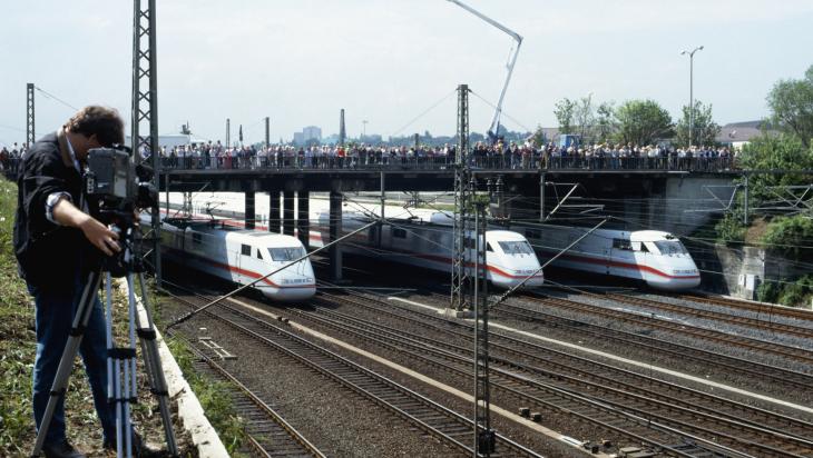 Historische Sternfahrt 1991; Deutsche Bahn AG / Lothar Mante