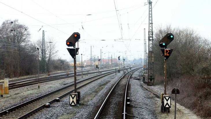 Vorsignale; Foto: DB AG / Jochen Schmidt