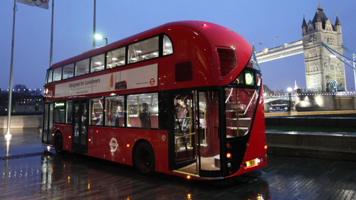 Der New Bus for London © DB AG