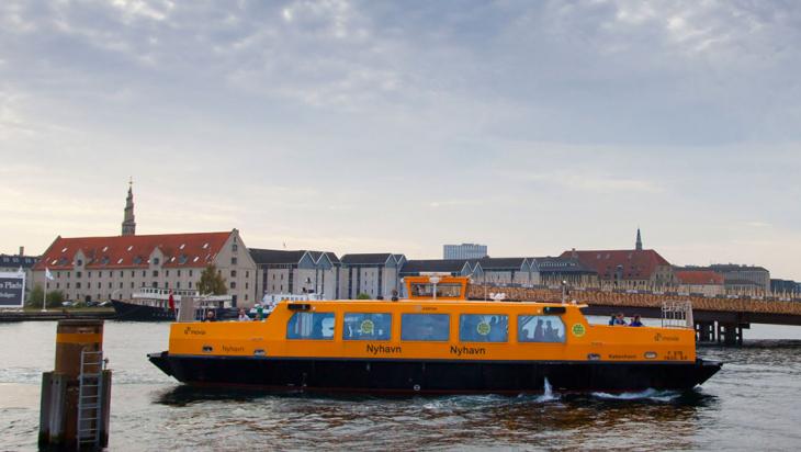 Wasserbus in Kopenhagen @ DB AG