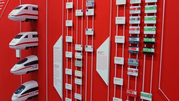 Die ICE haben sogar schon einen Platz im Museum; Bild: DB/Claus Weber