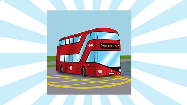 Bahn-Memo-Karten Busse in England; Bild: DB AG/ Titus Ackermann