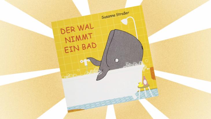 Kinderbuch: Der Wal nimmt ein Bad / Cover: Peter Hammer Verlag