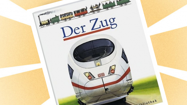 "Kinderbuch: ""Der Zug"" / Cover: Meyer"