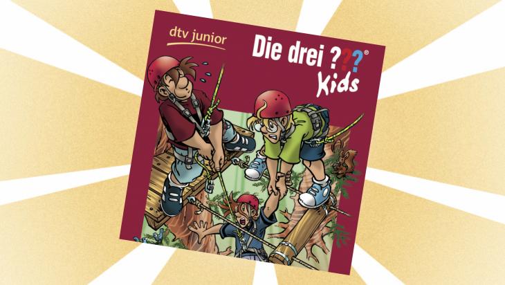 Kinderbuch: Die ??? Kids: Tatort Kletterpark / Cover: dtv