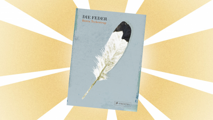 Kinderbuch: Die Feder / Cover: Prestel Verlag