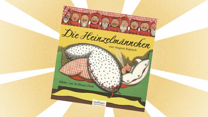 Kinderbuch: Die Heinzelmännchen / Cover: Esslinger Verlag