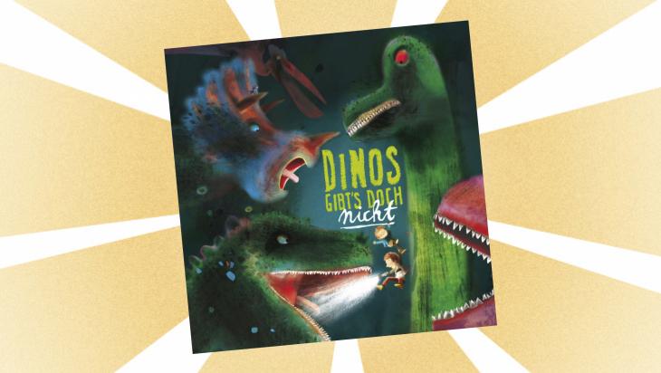 Kinderbuch: Dinos gibt's doch nicht / Cover: FISCHER Sauerländer