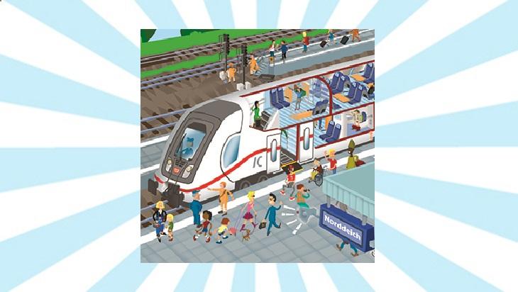 Bahn-Memo-Karten Doppelstock IC; Bild: DB AG/ Titus Ackermann