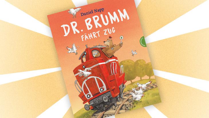 """Kinderbuch """"Dr. Brumm fährt Zug"""" / Cover: Thienemann Verlag"""