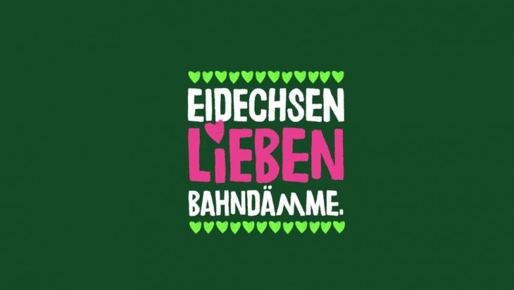 Eidechsen lieben Bahndämme; Bild: DB AG