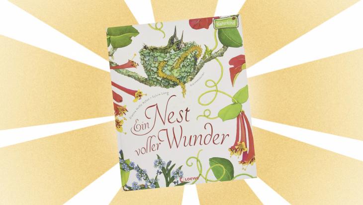 Kinderbuch: Ein Nest voller Wunder / Cover: Loewe Verlag